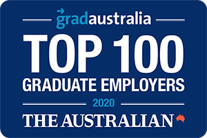 Image showing the ATO as the Australian's Top 100 Graduate employers 2020.