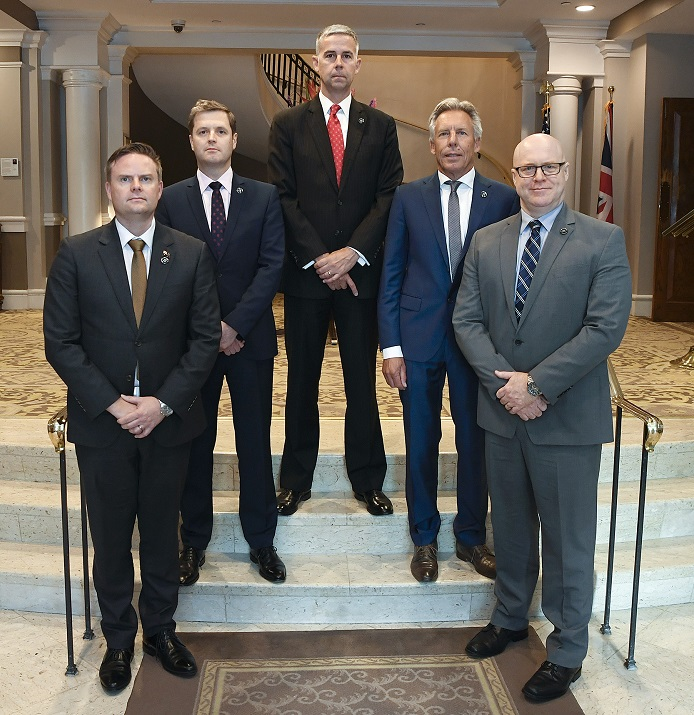 J5 Law Enforcement features Leaders of tax enforcement authorities from Australia, the United Kingdom, the United States, the Netherlands and Canada.