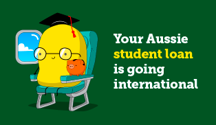 Aussie student loans go international