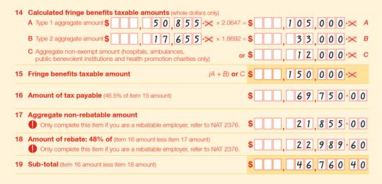 ato individual tax return instructions 2014